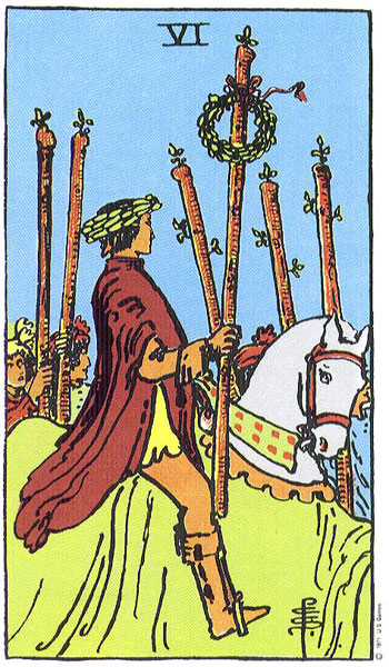 """six of wands"""